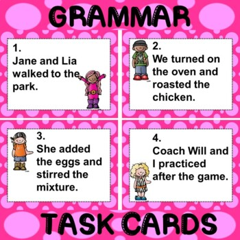ROCK ON! Grammar Game Series: Compound Subjects and Compound Predicates