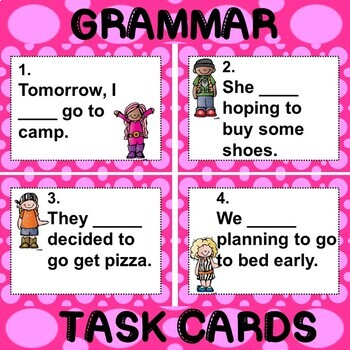 ROCK ON! Grammar Game Series: Helping and Main Verbs