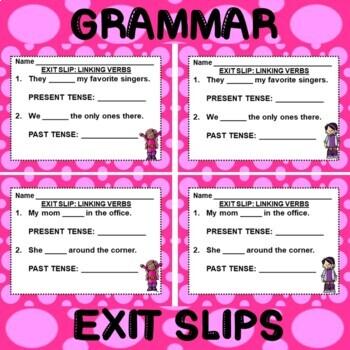 ROCK ON! Grammar Game Series: Linking Verbs