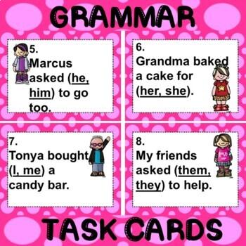 ROCK ON! Grammar Game Series: Object Pronouns