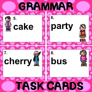 ROCK ON! Grammar Game Series: Plural Nouns by Teacher in High Heels