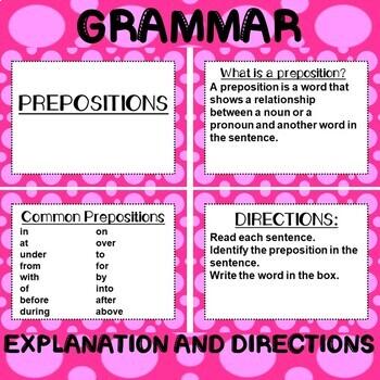ROCK ON! Grammar Game Series: Prepositions