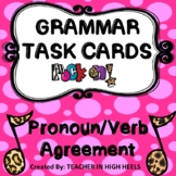 ROCK ON! Grammar Game Series: Pronoun Verb Agreement