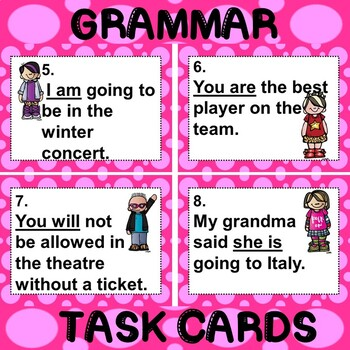 ROCK ON! Grammar Game Series: Pronoun Verb Contractions