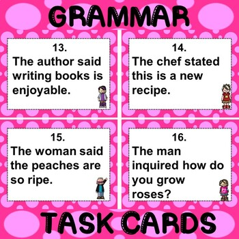 ROCK ON! Grammar Game Series: Quotation Marks 2