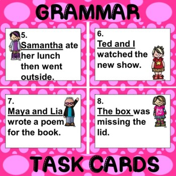 ROCK ON! Grammar Game Series: Subject Pronouns