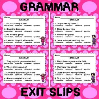 ROCK ON! Grammar Game Series: Types of Sentences