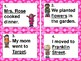 ROCK ON! Grammar Task Cards and/or Scoot Games