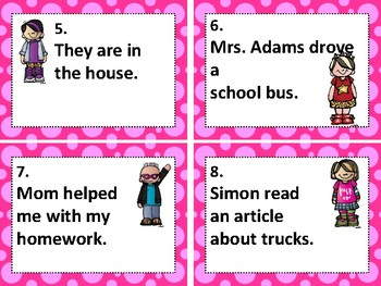 WONDERS aligned:  ROCK ON! Grammar Task Cards and/or Scoot Games #3