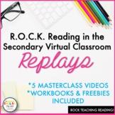 ROCK Reading in the Virtual Classroom Masterclasses