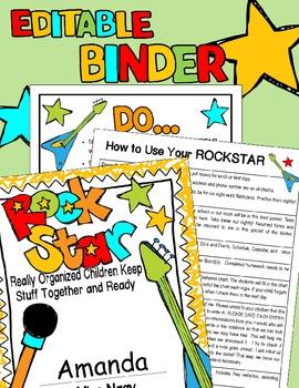 ROCK STAR Binder