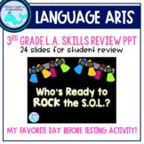 ROCK the S.O.L.- 3rd Grade LA Skills Review