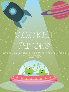 R.O.C.K.E.T BINDER COVER