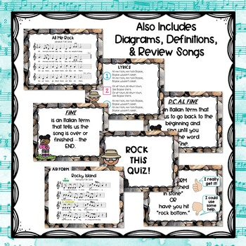 ROCKIN' FORM - Lesson and Songs to Teach AB/ABA Form - Elementary Music