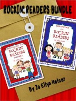 ROCKIN' READERS BUNDLE {GUIDED READING &LITERACY CENTERS}