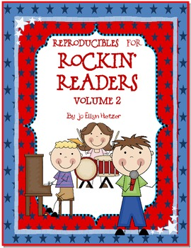 ROCKIN' READERS - READER RESPONSE REPRODUCIBLES ~VOLUME 2