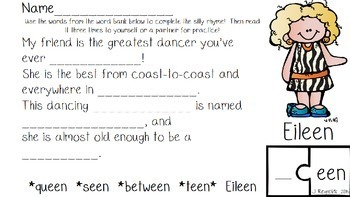 Rhyme Like A Rock Star-Phonemic Awareness and Fluency Pack {FREE}