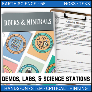 ROCKS AND MINERALS - Demo, Lab and Science Stations