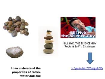 ROCKS SOIL WATER