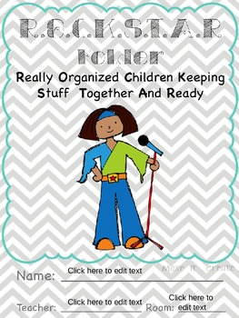 ROCKSTAR Folders - Really Organized Children Keeping Stuff Together And Ready