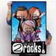 ROCKSTAR theme - Classroom Decor: 24 x 36 POSTER, 2nd Grade ROCKS