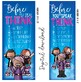 ROCKSTAR theme - Classroom Decor: LARGE BANNER, Before You Speak, printable