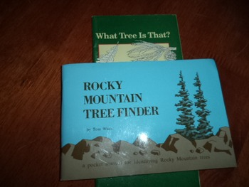 ROCKY MTN TREE FINDER  WHAT TREE   (SET OF 2)