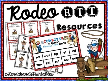 RODEO RTI Pack by Ms. Lendahand:)