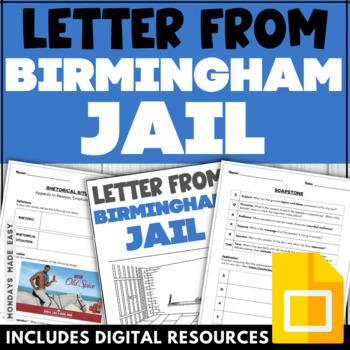 Rogerian Argument Worksheet  Letter From Birmingham Jail  Tpt Rogerian Argument Worksheet  Letter From Birmingham Jail
