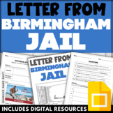 "ROGERIAN ARGUMENT Worksheet | ""Letter From Birmingham Jail"""