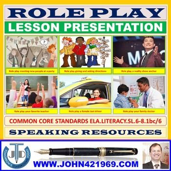 ROLE PLAY LESSON PRESENTATION