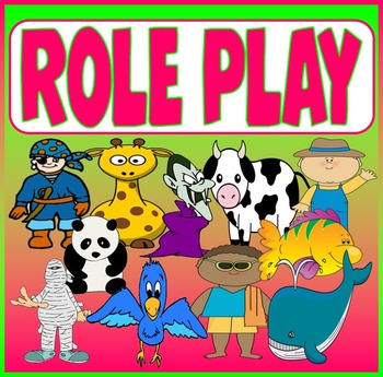 ROLE PLAY TEACHING RESOURCES EARLY YEARS KEY STAGE 1-2 ANIMALS PEOPLE ETC
