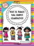 Roles de grupo para aprendizaje cooperativo