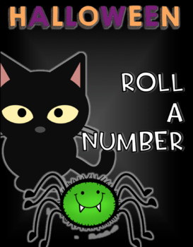ROLL A NUMBER - Halloween