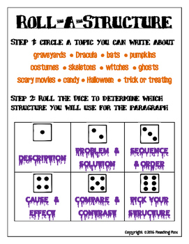 ROLL-A-STRUCTURE review and write! HALLOWEEN EDITION
