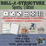 ROLL-A-STRUCTURE write your own! sports edition