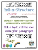 ROLL-A-STRUCTURE write your own! spring holiday edition