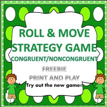 ROLL AND MOVE STRATEGY GAME...FREEBIE so you can TRY IT OUT!!