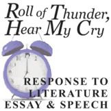 ROLL OF THUNDER, HEAR MY CRY Essay Prompts & Grading Rubrics