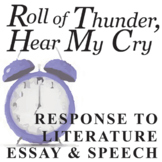 ROLL OF THUNDER, HEAR MY CRY Essay Prompts & Grading Rubrics