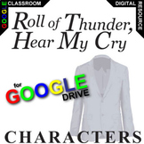 ROLL OF THUNDER, HEAR MY CRY Characters Organizer (Created
