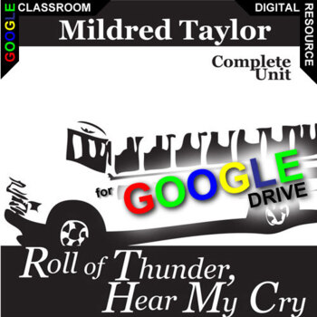 ROLL OF THUNDER, HEAR MY CRY Digital Unit Plan Novel Study - Literature Guide