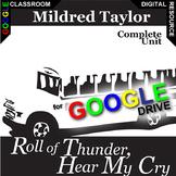 ROLL OF THUNDER, HEAR MY CRY Digital Unit Plan Novel Study (DISTANCE LEARNING)