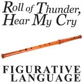 ROLL OF THUNDER, HEAR MY CRY Figurative Language Bundle