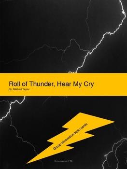 ROLL OF THUNDER, HEAR MY CRY Theme Activity
