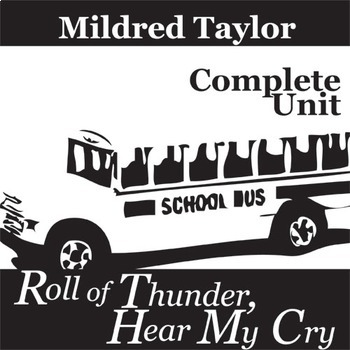 ROLL OF THUNDER, HEAR MY CRY Unit Novel Study (Taylor) - Literature Guide
