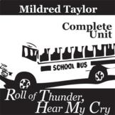 ROLL OF THUNDER, HEAR MY CRY Unit Novel Study (Taylor) - L
