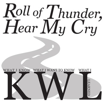 ROLL OF THUNDER, HEAR MY CRY KWL Organizer