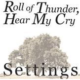 ROLL OF THUNDER, HEAR MY CRY Setting Organizer - Physical