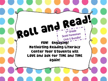 ROLL and READ 1st Grade Scott Foresman Unit 5 BUNDLE
